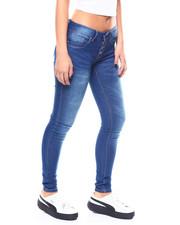 Fashion Lab - 4 Button Hi Rise Jean-2266527