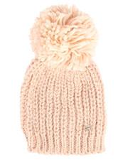 Fashion Lab - Iceland Yarn Hat w/Contrast Pom-2266423