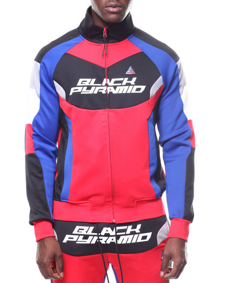 Buy BP RACING TRACK JACKET Men's Outerwear from Black ...