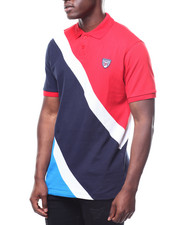 Parish - COLORBLOCK PIQUE POLO-2267730