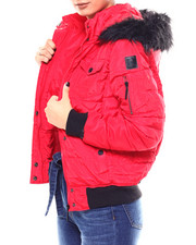 Outerwear - Bomber Jacket/Faux Fur Tri Hood-2266490