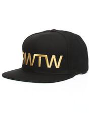 Hats - RWTW Logo Flag Roll With The Winners Snapback Hat-2264133