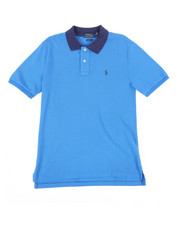 Polo Ralph Lauren - Cotton Mesh Polo Shirt (8-20)-2268010