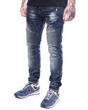 Jeans - Cleveland Stretch Moto Jean by Preme-2266837