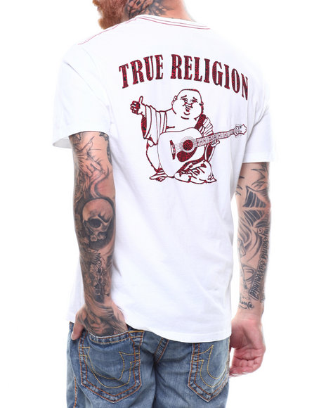 True Religion - MB BUDDHA SS CREW NECK