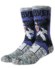 DRJ SOCK SHOP - Venom Comic Socks-2267405