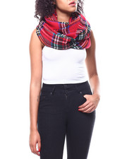 Women - Plaid Airspun Loop Scarf-2267897