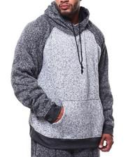Brooklyn Cloth - Color Block Cozy Knit Hoodie (B&T)-2268672
