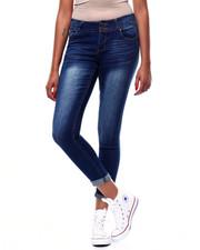 Fashion Lab - 2 Button Roll Cuff Skinny Jean-2256598