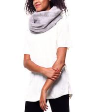 Fashion Lab - Twisted Faux Fur Ring Scarf-2268724