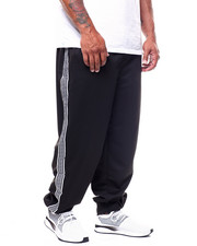 Brooklyn Cloth - Greek Key Tape Poly Pique Jogger (B&T)-2268704