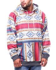 Big & Tall - Cozy Knit Deset Stripe Hoodie (B&T)-2268676