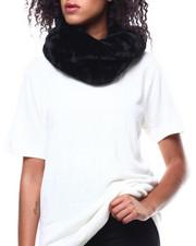 Fashion Lab - Twisted Faux Fur Ring Scarf-2268726