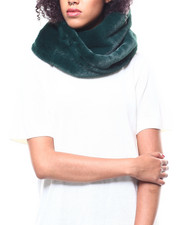 Fashion Lab - Twisted Faux Fur Ring Scarf-2268727