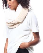 Fashion Lab - Lurex Knit Ring Scarf-2268728