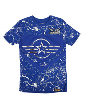 SWITCH - 3D Embossed Military Tee (8-20)-2266185