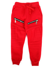 Bottoms - Fleece Zipper Joggers (2T-4T)-2268661