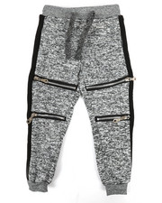Bottoms - Fleece Zipper Jogger (2T-4T)-2267969
