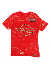 SWITCH - 3D Embossed Military Tee (8-20)-2266019