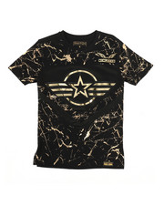 SWITCH - 3D Embossed Military Tee (8-20)-2266014