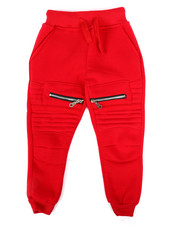 Bottoms - Fleece Zipper Joggers (2T-4T)-2268665