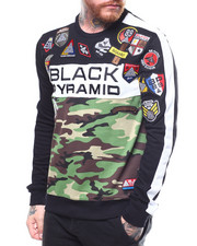 Black Pyramid - BP MILITARY SWEATSHIRT-2269521