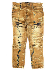 Boys - Bike Fit Multi Stud Jeans (4-7)-2266035