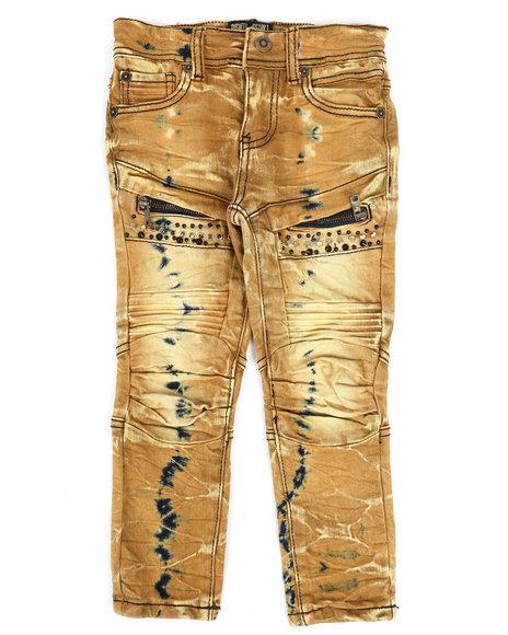 Arcade Styles - Bike Fit Multi Stud Jeans (4-7)