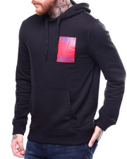 Calvin Klein - STACKED LOGO CROSSOVER HOODIE-2269196