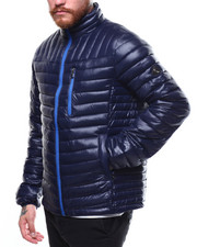 Heavy Coats - CONTRAST TRANISTIONAL PUFFER-2269600
