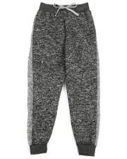 Boys - Marled Fleece Sweatpants (8-20)-2267555