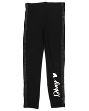 DKNY Jeans - Fleece Legging w/Glitter Taping (7-16)-2267384