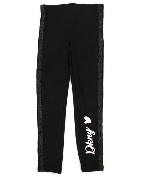 DKNY Jeans - Fleece Legging w/Glitter Taping (7-16)