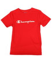 Champion - Heritage Logo Tee (4-7)-2268092