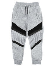 Bottoms - Fleece Zipper Joggers (2T-4T)-2268097