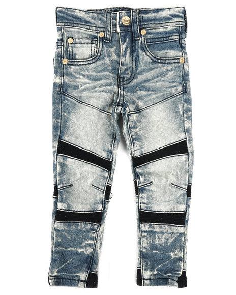 Arcade Styles - 3D Knee Biker Fit Jeans (2T-4T)