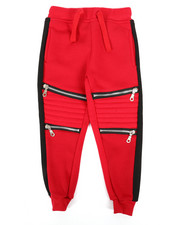 Bottoms - Fleece Zipper Jogger (2T-4T)-2268033