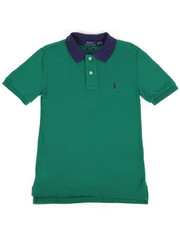 Polo Ralph Lauren - Cotton Mesh Polo Shirt (8-20)-2268001