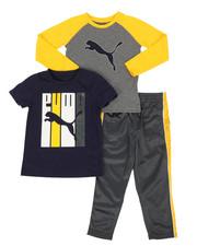 Sets - 3 Piece Tee & Track Pant Set (4-7)-2268024