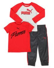Puma - 3 Piece Tee & Track Pant Set (4-7)-2268065