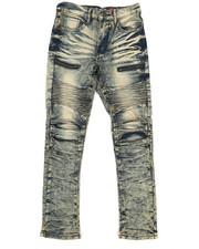 Arcade Styles - Moto Zip Jeans (8-20)-2265350