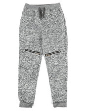 Sizes 8-20 - Big Kids - Fleece Zipper Joggers (8-20)-2268839