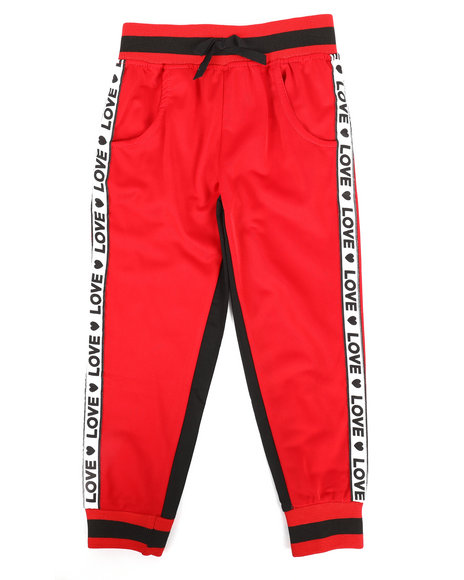 La Galleria - Color Block Tricot Pants (4-7)