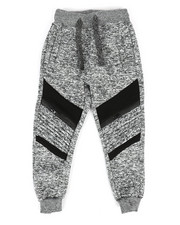 Bottoms - Fleece Zipper Joggers (2T-4T)-2268844
