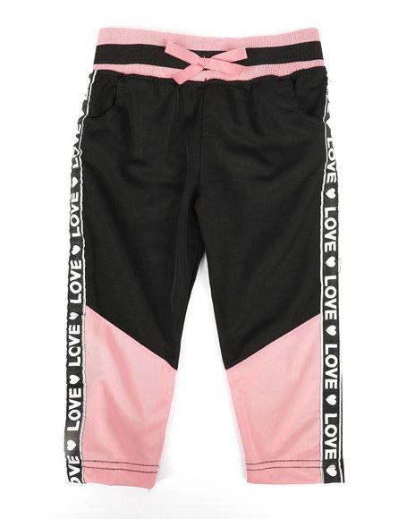 La Galleria - Color Block Tricot Pants (2T-4T)