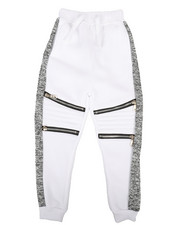 Arcade Styles - Fleece Zipper Joggers (4-7)-2267399