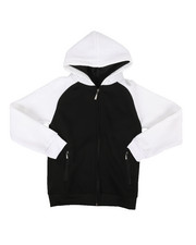 Sizes 8-20 - Big Kids - Fleece Raglan Hoodie (8-20)-2267500