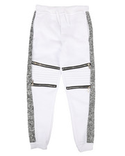 Sizes 8-20 - Big Kids - Fleece Zipper Joggers (8-20)-2267394