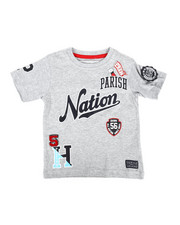 Tops - Patch Work Printed Jersey Tee (2T-4T)-2268955