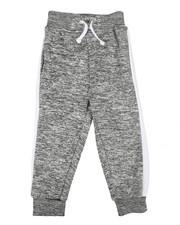 Arcade Styles - Marled Fleece Sweatpants (4-7)-2267470